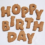 Hoppy Birthday Cookies